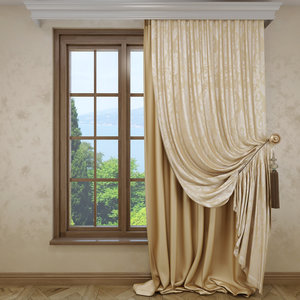 3d curtains classic jacquard model