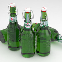 Beer Bottle Grolsch 450ml