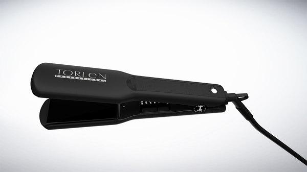 3d hair straightener model