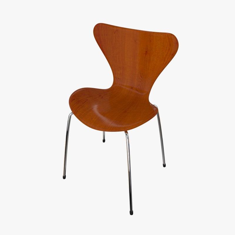 chair tendy 3d model