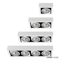 3d spotlights vibia lights