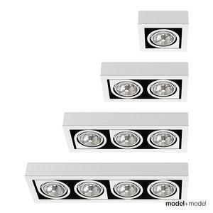 3d spotlights vibia lights