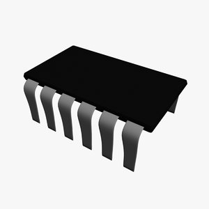 transistor diode 3d obj