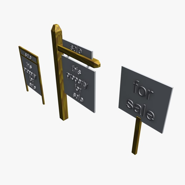 real signs 3d model