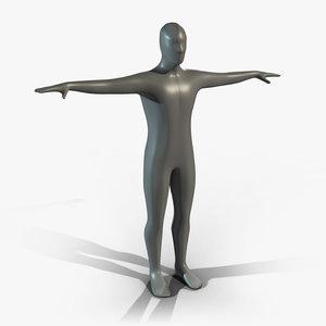 generic man figure - 3d fbx