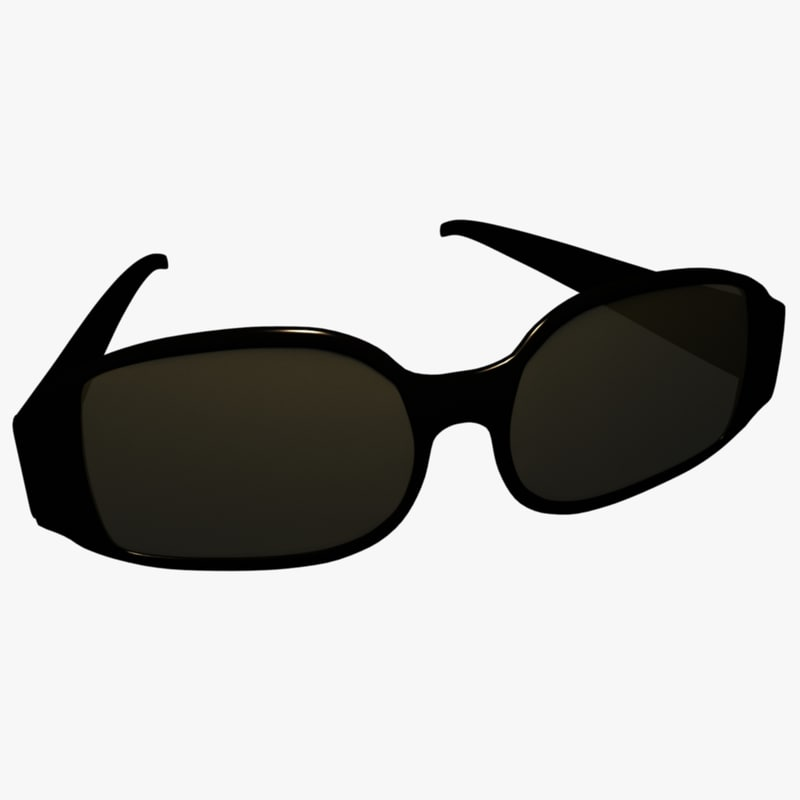 sunglasses glasses sun 3d obj