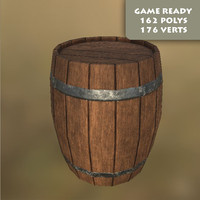 free ma mode ready wooden barrel pbr
