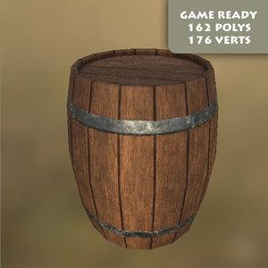 free ma mode ready wooden barrel pbr