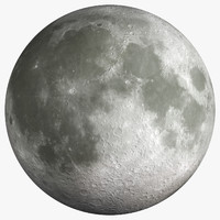 3d moon ultra definition -