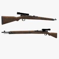 type 99 rifle optics 3d max