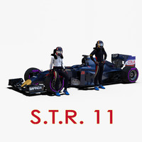 3ds s rigged f1