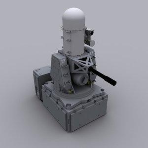 3d phalanx ciws model
