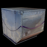 ld3 container cargo 3d c4d