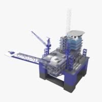 3d offshore platform