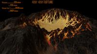 volcano obj