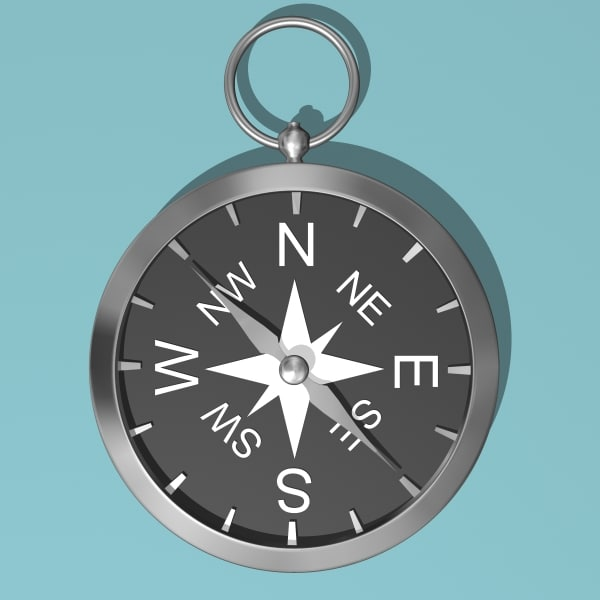 3d model compass s