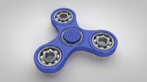 3d bearing spinner model