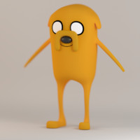 jake adventure time blend