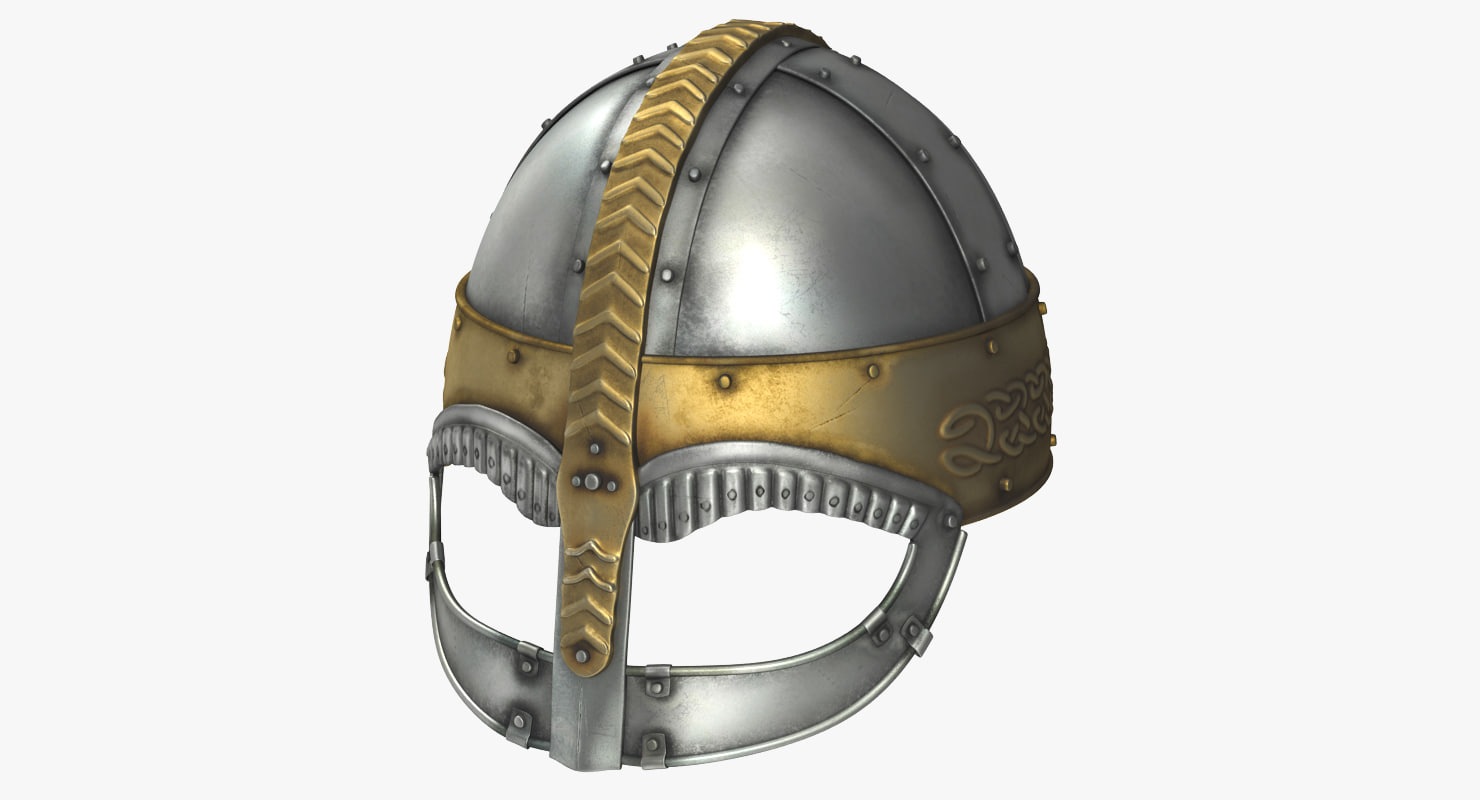 viking horned helmet 3ds