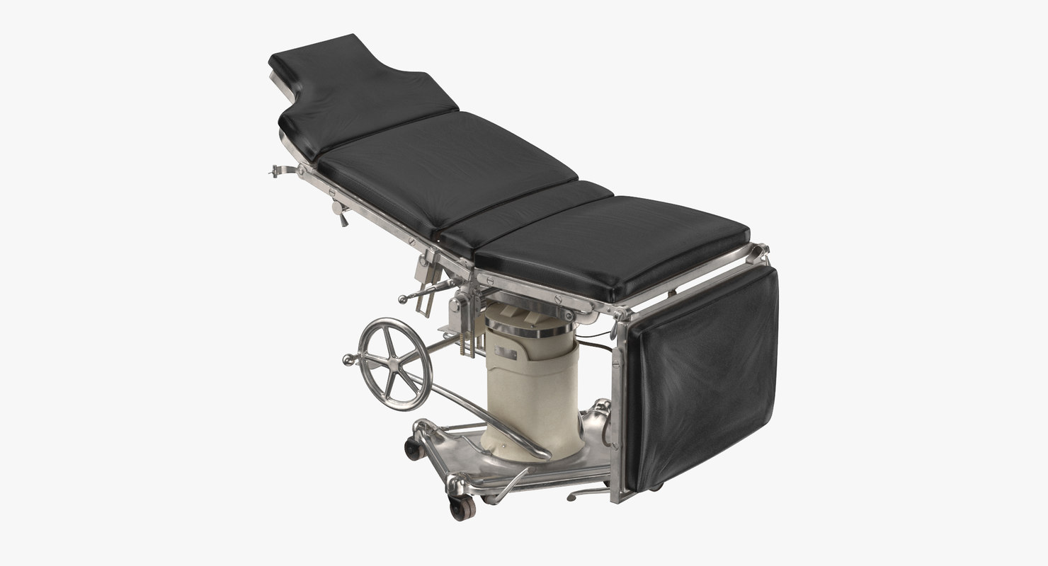 3d model operating table 01 industrial