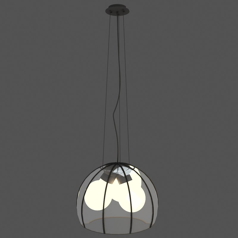 3ds pendant light 2