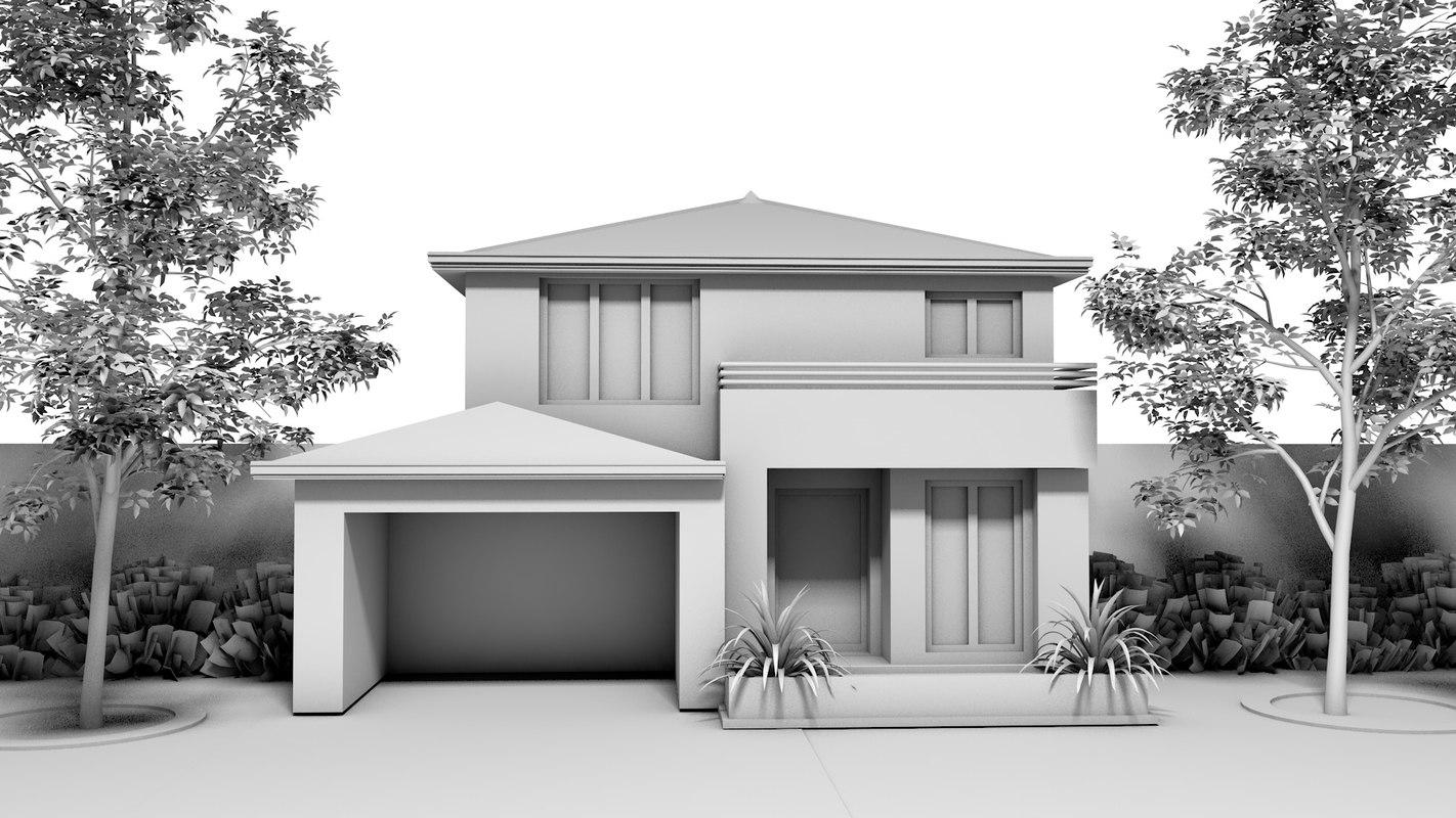 modern home 3ds