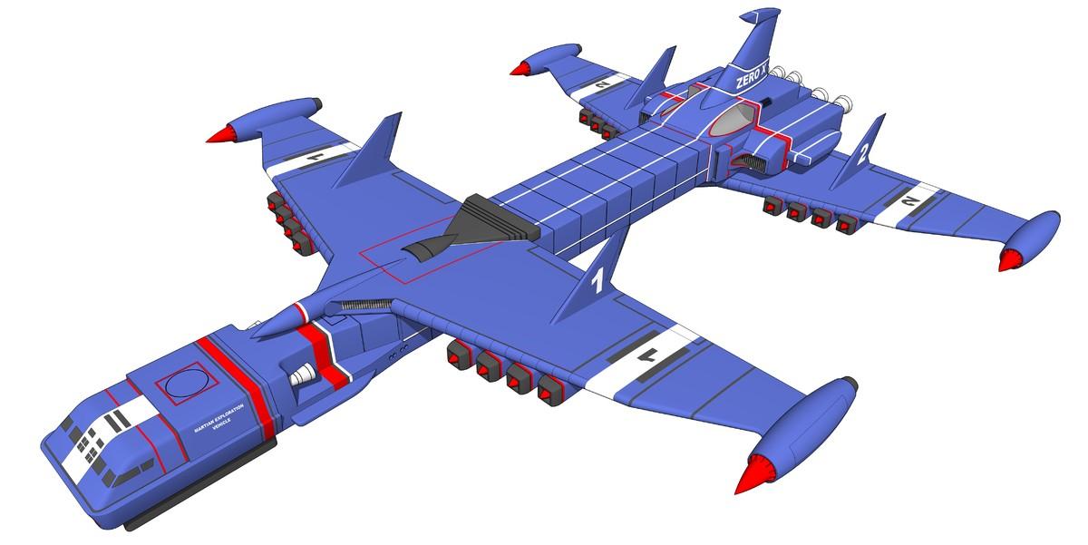 3d model anderson sketchup