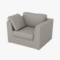 machalke armchair 3d model