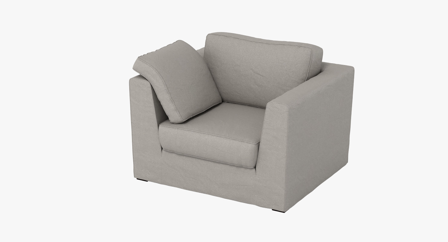 machalke armchair 3d model