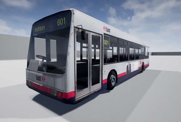 bus use 3d obj