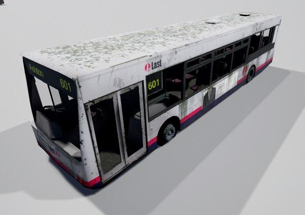 bus unreal 3d 3ds