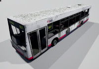 bus unreal 3d 3ds