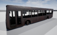 3d bus unreal
