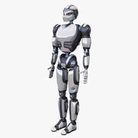 cyborg 3d max