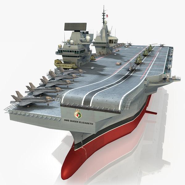 3d hms aircraft carrier