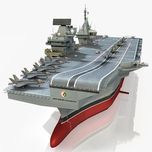 3d hms aircraft carrier