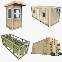 Millitary Containers Collection