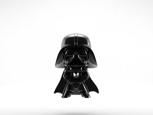 darth vader star wars 3d max