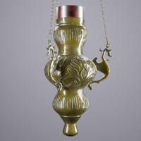incense lamp 3d model