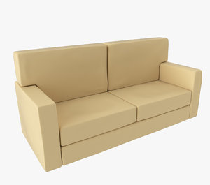 couch sofa 3d 3ds