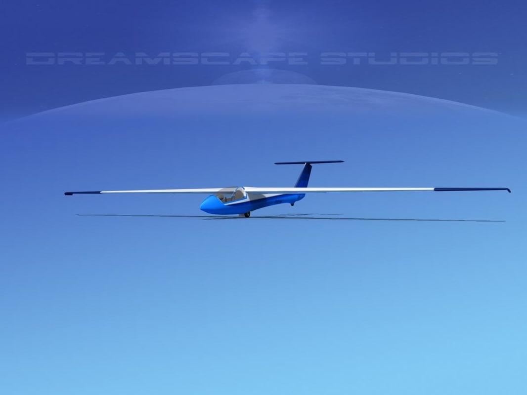3d glider szd-22 mucha gliding