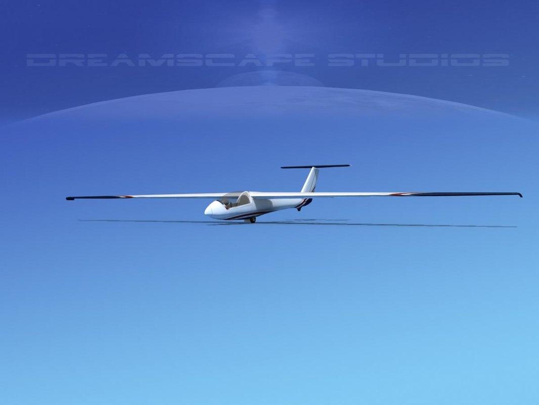 3ds glider szd-22 mucha gliding