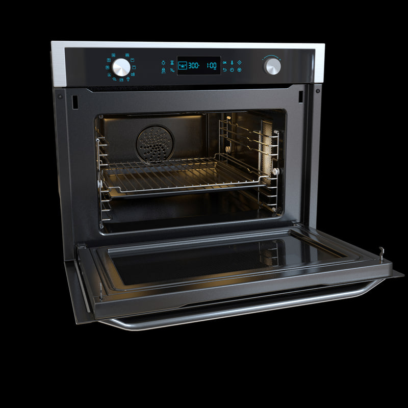 3d model of oven