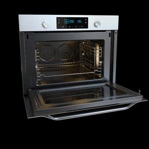 3d model samsung oven