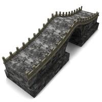3d max stone bridge