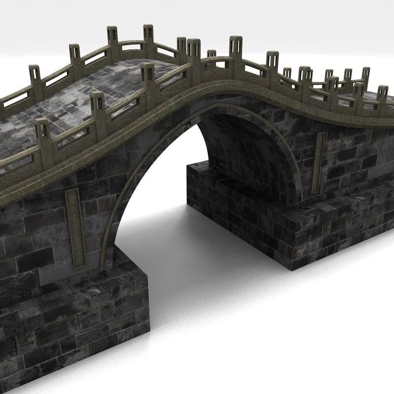 stone bridge 3d x