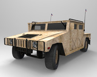 hummer army 3d max