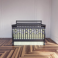 3d model of modern crib bumpers