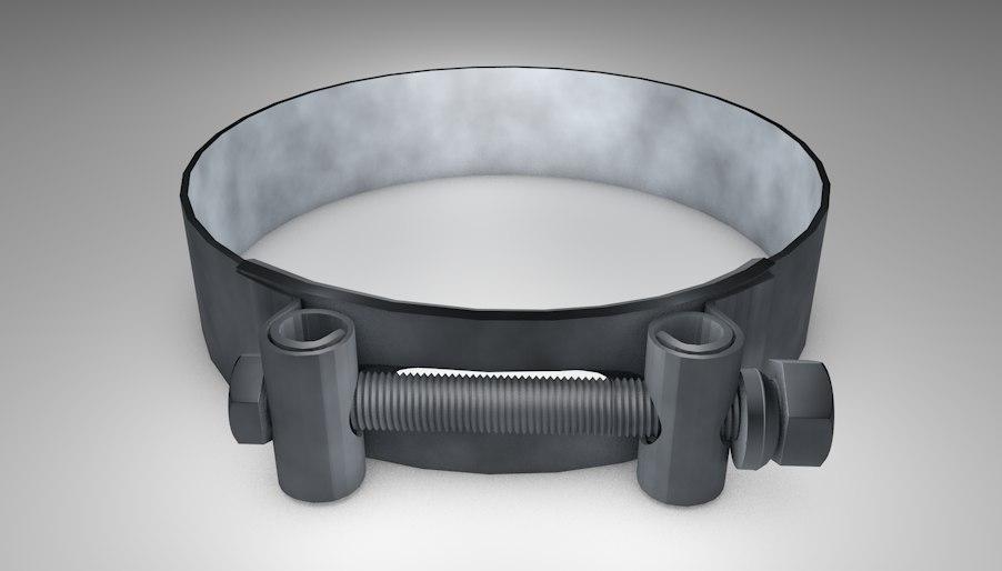 3d t-bolt clamp