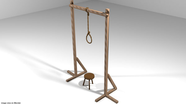punishment 3d model